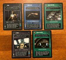 Star Wars CCG: Dagobah; Bossk, Hound's Tooth, Zuckuss + more Rare Cards