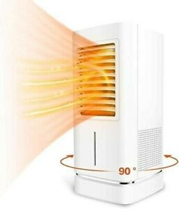 Wiland 2500W Ceramic Space Heater With Humidifier, Thermostat 12H Timer Tip-over