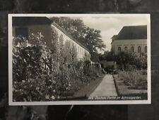 1940 Germany Dachau Concentration Camp Garden postcard Cover Waffen SS Feldpost