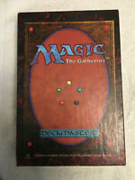 Box & Tray Only ~ 1994 Magic the Gathering ~ Starter Set 3rd Edition Deckmaster