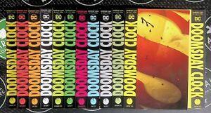 Doomsday Clock #1-12 + Variant 2019 DC Comics Complete Run Geoff Johns Watchmen