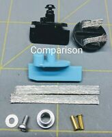 Scalextric slot car guide kit for Carrera slot tracks Frankenslot FREE Shipping!