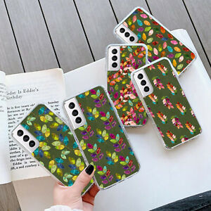 FLOWER PATTERN Gel Case Cover For Samsung Galaxy S21 Plus S20 FE 271