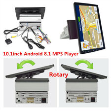 "Android 8.1 Single Din 10.1"" HD Quad-Core Car Stereo Radio GPS Wifi Mirror Link"