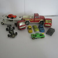 Die Cast Toy Cars Some Vintage Tonka, Buddy L, Zylmex, Hot wheels Lot of 10