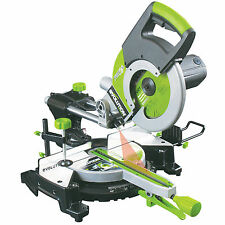 EVOLUTION FURY 3 XL 255 CHOP SAW SLIDING COMPOUND MITRE 255mm bigger10inch blade