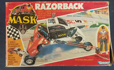 Vintage M.A.S.K. Razorback Vehicle and Clutch Hawks Action Figure Rough Box