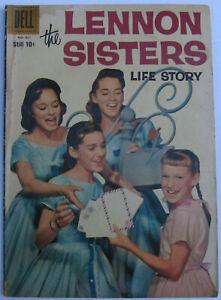 Lennon Sisters Life Story #951 (Nov 1958, Dell), G-VG (3.0), Toth art, photo cvr