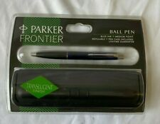 Parker Frontier Roller Ball Pen with case,  Blue Ink (new Unopened) - (ROM)