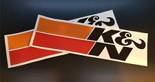 K & N Car Stickers x 2