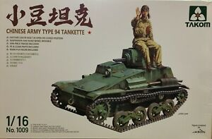 TAKOM CHINESE ARMY TYPE 94 TANKETTE 1/16 SCALE - INCLUDES FIGURE + P/ETCH BNIB