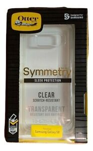 Authentic OtterBox Sleek Symmetry Case Cover for Samsung Galaxy S8 - Clear