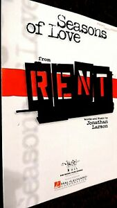 SEASONS OF LOVE: THEME FROM THE MUSICAL 'RENT' (SHEET MUSIC)