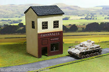 WWS WWII Scenery/Terrain Model Shop / House for 28mm Warlord Warhammer R18