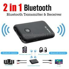 3.5mm Stereo 2in1 Bluetooth Trasmettitore& ricevitore A2DP Audio Adattatore