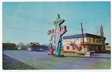 Oscar Motel Ville Lemoyne Quebec Vintage Chrome Used 1961 Fair