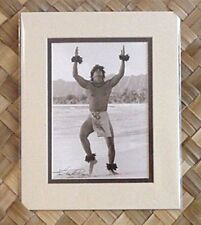 "Kim Taylor Reece ""Kamalani"" 8 X 10 Double Matted Hawaiian Hula Print - New"