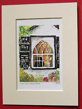 GRETNA GREEN SCOTLAND MARRIAGE LOVERS LOVE CHARMING MOUNTED PRINT 8X6 OVERALL