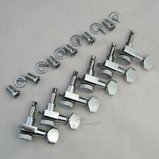 Locking Tuner Pegs, Fits Fender,6 inline, Chrome New