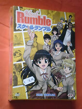 SCHOOL RUMBLE- COFANETTO BOX-CON 4 DVD ANIMAZIONE- E 26 EPISODI-SIGILLATO