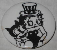 """Betty Boop Uncle Sam Pin 1.75"""""""