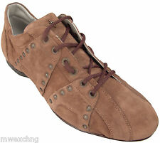 CESARE PACIOTTI US 10 SOFT SUPPLE STYLISH & TRENDY STUDDED SUEDE SPORT SHOES