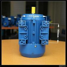 0.25kw 0.33HP 1400rpm shaft 14mm Electric motor single-phase 240v cement mixer