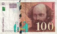 1998 | France 100 Francs Banknote | Banknotes | KM Coins