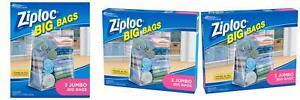 Ziploc Jumbo Big Bags 3 ea Pack - 1