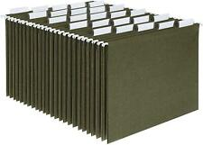 New Listinghanging File Cabinet Folders Letter Size 15 Cut Tabs Standard Green 25 Per Box