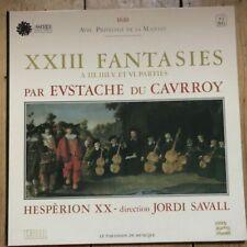 ASTREE AS 86 Du Cavrroy XXIII Fantasies / Jordi Savall / Herspèrion XX