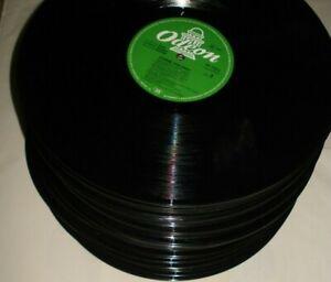 """Paket mit 100 x Schallplatten  - 12"""" - LPs - Vinyl ohne Cover - Deko - Basteln"""
