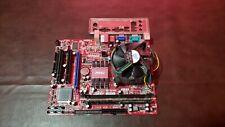 MSI G31TM-P21 LGA775 Intel Motherboard + Pentium 4 CPU + 1GB of RAM + I/O Shield