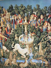 Tapestry Panels Textile Picture without Frame Unicorn Fabric 23 5/8x29 1/2in