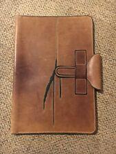 Handmade Leather Portfolio