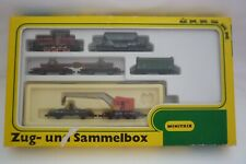 MINITRIX - SPUR N - 51 1024 00 ZUG-UND SAMMLERBOX DB 261 626-6   OVP (14.EI-113)