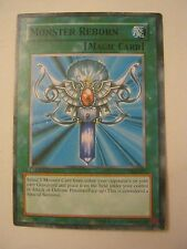 Yu-Gi-Oh Monster Reborn SKE-029 Magic Card  Good Condition (011-70)