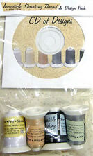 THREAD Set ~ INCREDIBLE SHRINKING THREAD & DESIGN PACK ~ by The Embrodery Store