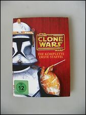 DVD FSK12 Star Wars The Clone Wars Komplette 1. Staffel 22 Episoden