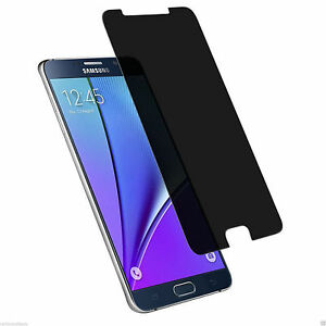 Real Privacy Anti-spy Tempered Glass Screen Protector For Samsung Galaxy Note 5