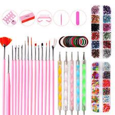 Craft DIY Nail Art Kit 3D Nail Art Supplies Tool Set For Girl Nail Decor