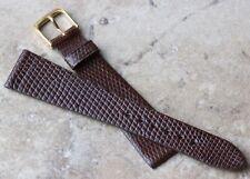 Piatto Affusolato Originale Lucertola 20mm Vintage Cinturino Orologio IN IN USA