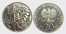 POLONIA POLAND -NI/ 20 ZLOTYCH 1980 PROBA PROOF !