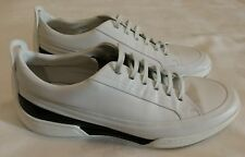PORSCHE DESIGN Leather Trainers White Size uk 10 eu 44 Made in Italy