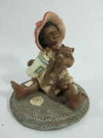 "MARTHA HOLCOMBE All Gods Children Figurine 1988 ""KEZIA"" #76 GOD IS LOVE"