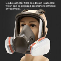 15 IN 1 6800 FULL FACE GAS MASK FACEPIECE RESPIRATOR FOR PAINTING SPRAYING CHEER
