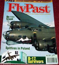 Flypast 1998 May Spitfire,Beaufighter,B-24 Liberator,B-17,He111