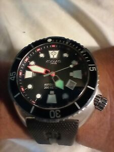 Zodiac diver watch