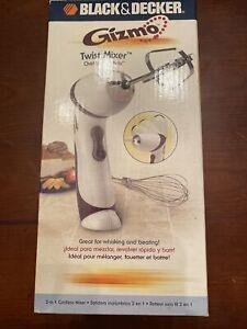 Black & Decker GIZMO Twist Cordless Hand Mixer Beater GM100 Whisking Kitchen
