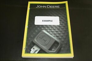 JOHN DEERE 4420 4425 9450 4435 132 INCH 154 INCH PICKUP OPERATORS MANUAL